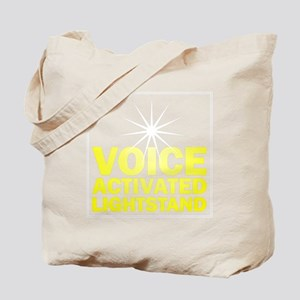 Voice_Activated_Lightstand Tote Bag