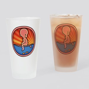 surf-womb-2-T Drinking Glass