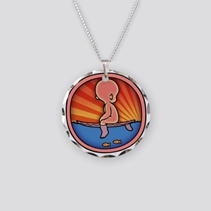 surf-womb-2-T Necklace Circle Charm