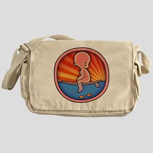 surf-womb-2-T Messenger Bag
