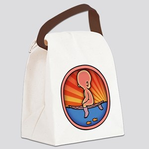 surf-womb-2-T Canvas Lunch Bag