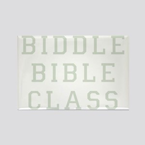 biddle bible class 2 dark Rectangle Magnet