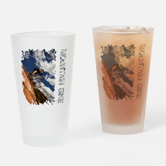 Mountain_Bike_Hill_whr Drinking Glass