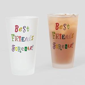 BestFriendsForever02 Drinking Glass