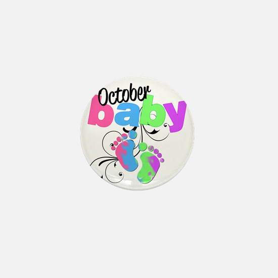 oct baby Mini Button