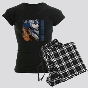Mountain_Bike_Hill Women's Dark Pajamas