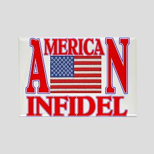 AMERICAN INFIDEL Rectangle Magnet