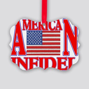 AMERICAN INFIDEL Picture Ornament
