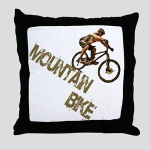 mntbike Throw Pillow