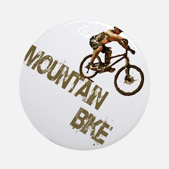 mntbike Round Ornament