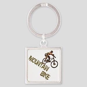 mntbike Square Keychain