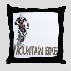 Mountain_Bike3 Throw Pillow