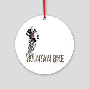Mountain_Bike3 Round Ornament
