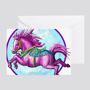 pony-tshirt Greeting Card