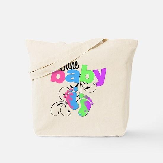 june baby Tote Bag