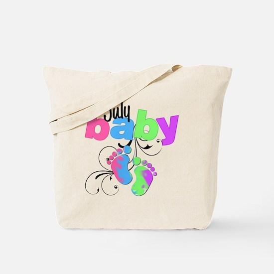 july baby Tote Bag