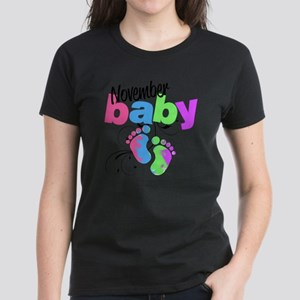 nov baby Women's Dark T-Shirt