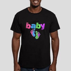 nov baby Men's Fitted T-Shirt (dark)