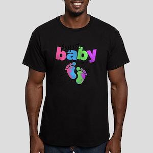 august baby Men's Fitted T-Shirt (dark)