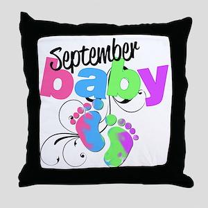 sep baby Throw Pillow
