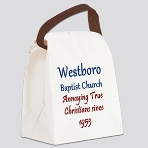 Westboro1 Canvas Lunch Bag