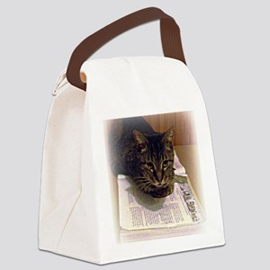 reading 8 x 10 Canvas Lunch Bag