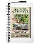 Master Gardener seed packet Journal