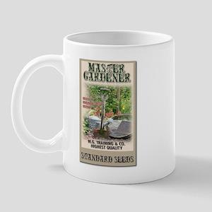 Master Gardener seed packet Mug