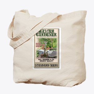 Master Gardener seed packet Tote Bag