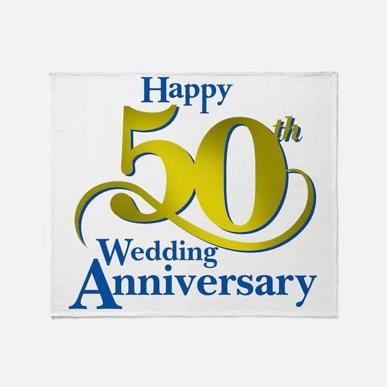 50thAnniversaryLogo2 Throw Blanket