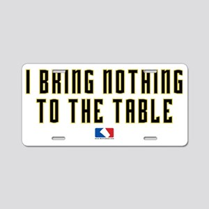 nothing Aluminum License Plate