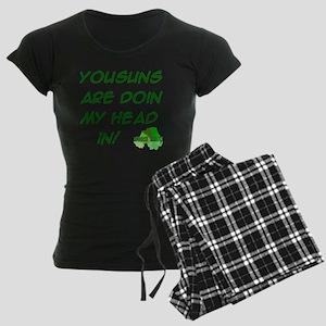 kids-t-shirt-10x10-yousuns Women's Dark Pajamas