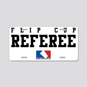 referee Aluminum License Plate