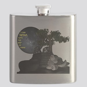 I can howl with the best of them! Flask