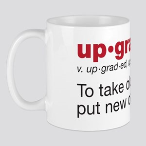 upgrade Mug
