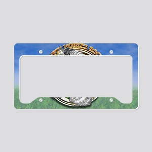 licencegypsyRock License Plate Holder
