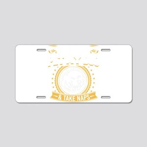 Bichon Frise Pet My Dog & D Aluminum License Plate