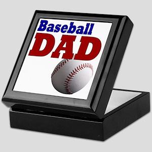 Baseball Dad Keepsake Box
