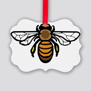Big Bee Picture Ornament