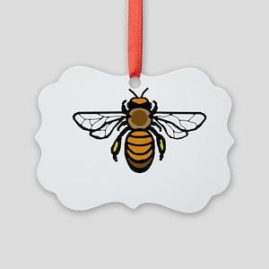 Big Bee Picture Ornament