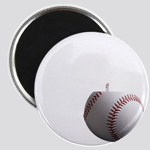 Baseball Dad black tees Magnet