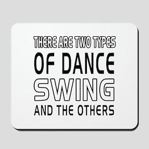 Swing Dance Designs Mousepad