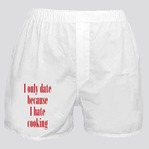 hate_cooking_tall1 Boxer Shorts