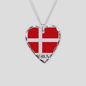 Denmark Necklace Heart Charm