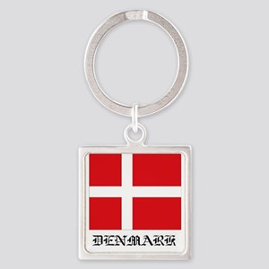 Denmark Square Keychain