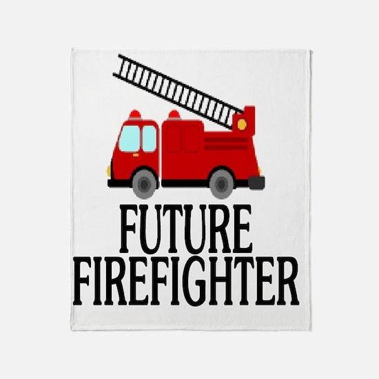 FUTURE FIREFIGHTER Throw Blanket