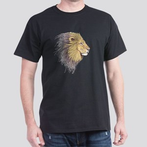 Lion Head Dark T-Shirt