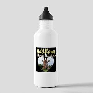 CUTE GIRAFFE Stainless Water Bottle 1.0L