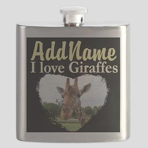 CUTE GIRAFFE Flask