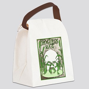 Frog Legs Rag Canvas Lunch Bag